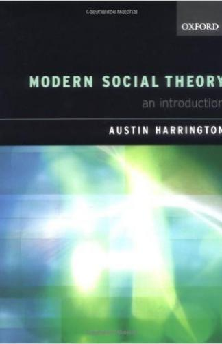 MODERN SOCIAL THEORY AN INTRODUCTION